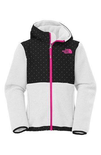 The North Face 'Denali' Hoodie (Little Girls & Big Girls) available at #Nordstrom