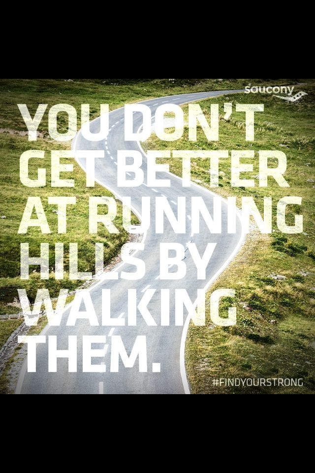 Run the hills