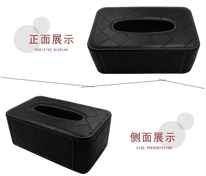 Car Tissue Box Napkins Holder Container Car-styling Interior Accessories