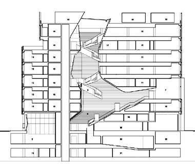 New Academic Building, Cooper Union by Morphosis- 2007 Guide to - new aia final completion