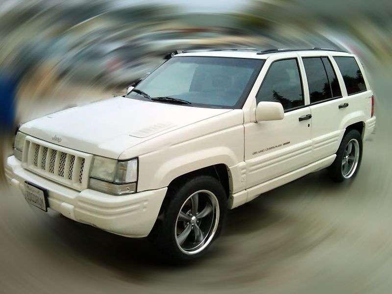 My 1998 Jeep Grand Cherokee Limited 5 9 Litres Of Fast V8 Muscle