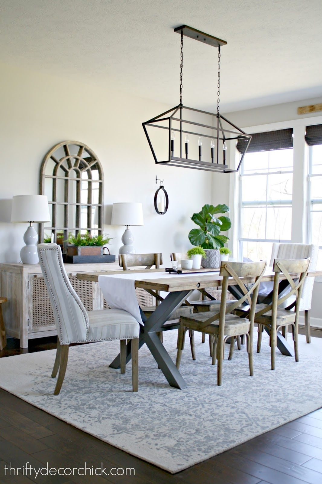 Come See How I Styled My Morning Room At Thrifty Decor