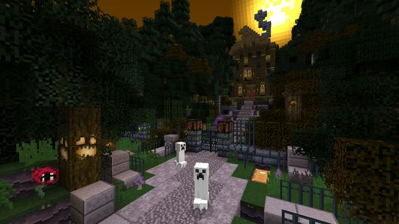 Minecraft Haunted House Google Search With Images Minecraft