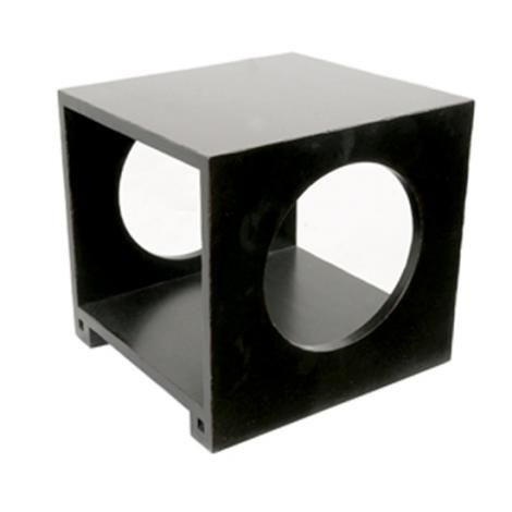 Hooker Furniture Wooden Side Table In Black, $199 At Morris Sokol;  Photographed By Colin
