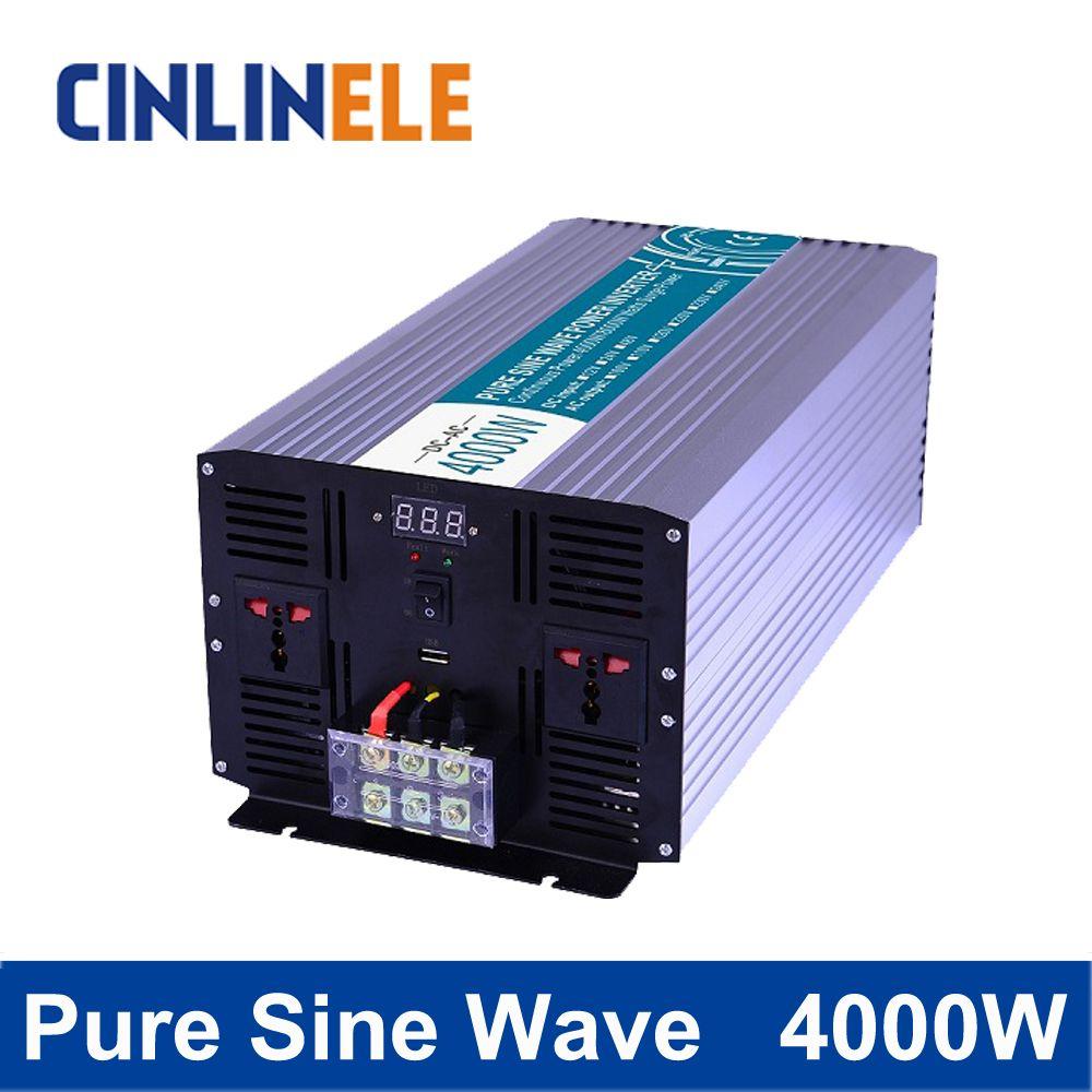 Pure Sine Wave Inverter 4000w Clp4000a Dc 12v 24v 48v To Ac 110v 220v 4000w Surge Power 8000w Affiliate Solar Power Inverter Sine Wave Solar Inverter