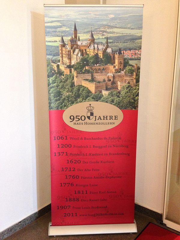 950 jahre of Haus Hohenzollern