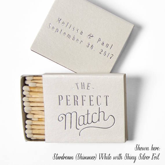 The Perfect Match Matchboxes Wedding Favors Wedding Etsy Matchbox Wedding Favors Wedding Matches Etsy Wedding Favors