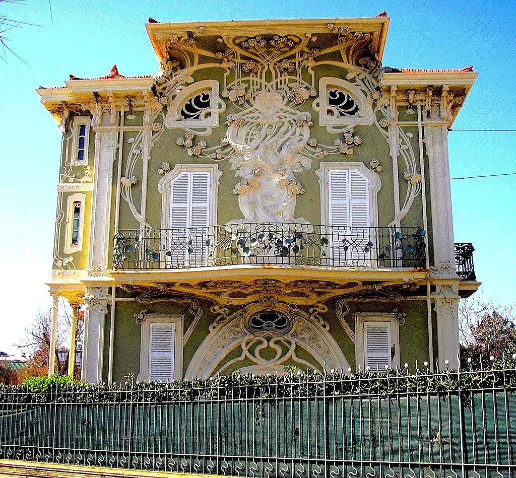 English In Italian: Villino Ruggeri, Pesaro, Italy. Built Between 1904 And