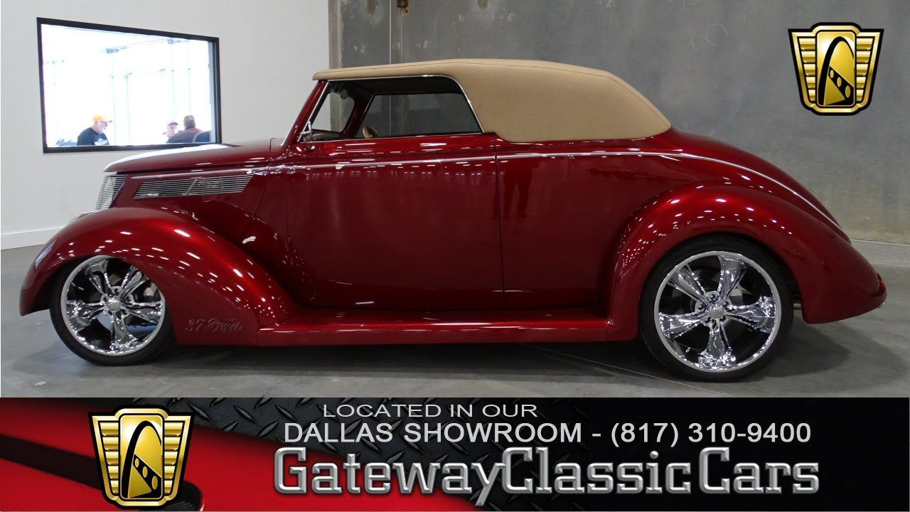 1937 Ford Cabriolet Stock #10 Gateway Classic Cars Dallas Showroom ...