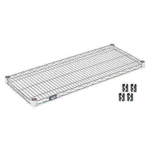 Nexel Chrome Wire Shelf w/Clips, 30   Wire shelving, Wire ...