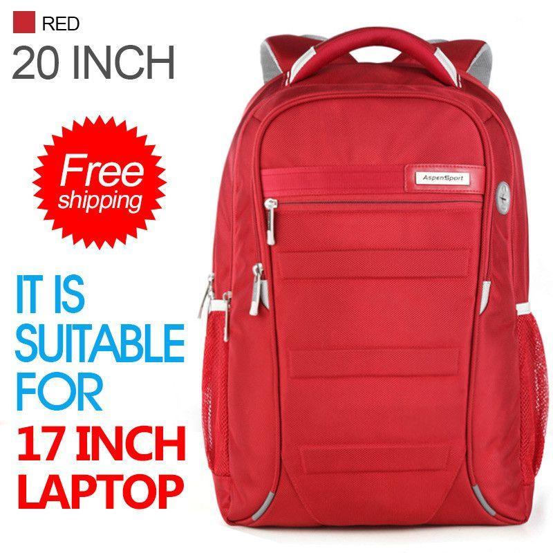 6d980e8816 Men and Women Laptop Backpack 15.6 Mochila 17 Inch Bag Travel waterproof  Backpack Male Large Capacity luggage   SchoolBag black