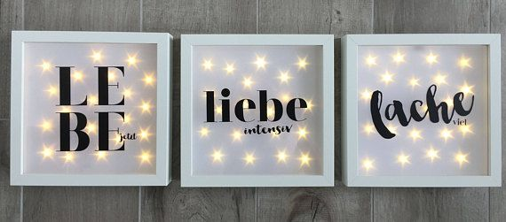 Beleuchtete Led Weihnachtsbilder.Illuminated Picture Frame With Spell Wall Led Frame Decoration