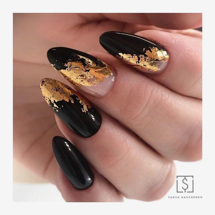 Photo of 20 einfache schwarze Nail Art Design-Ideen #naildesigns – schwarze Nail Art Desi…