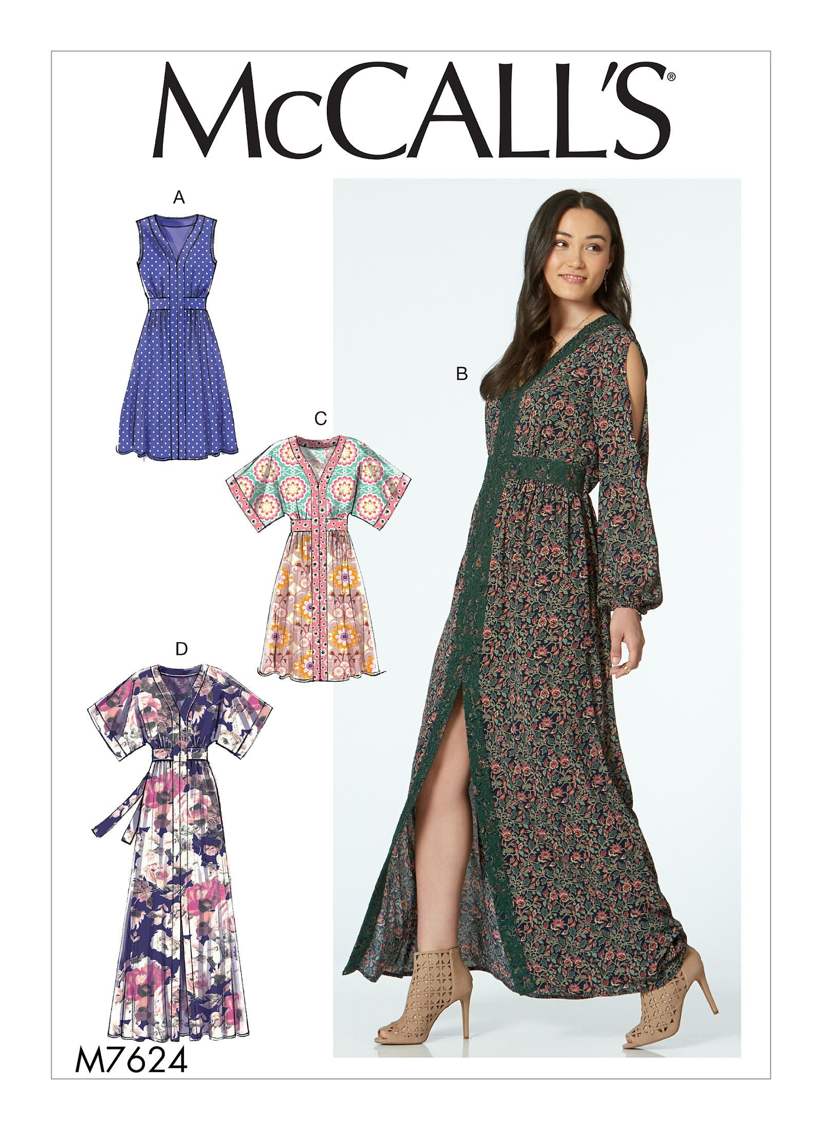 M7624   McCall\'s Patterns   Sewing Patterns   sewing   Pinterest ...