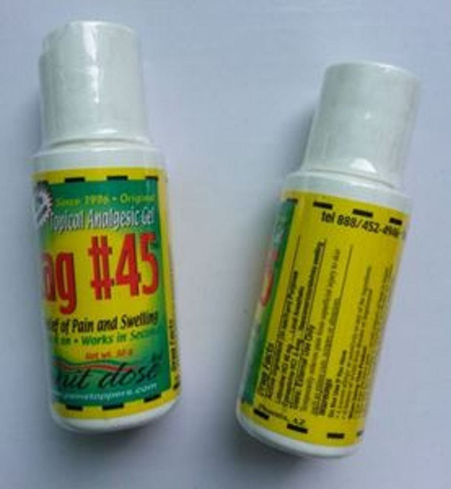 tag 45 topical anesthetic numb gel for permanent makeup