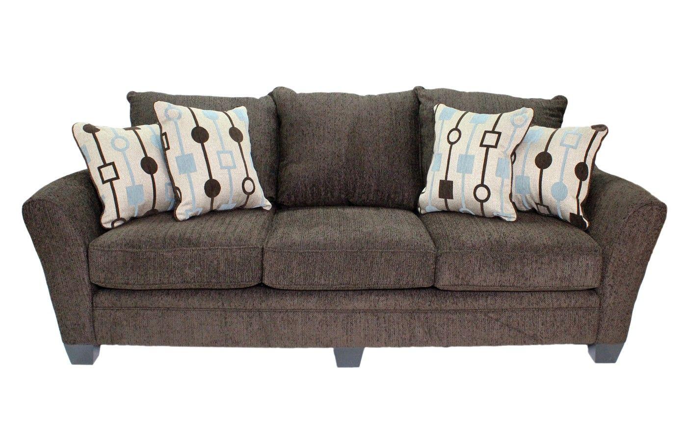 Mor Furniture Sofas Rachel Omega Mist Sofa Mor Furniture