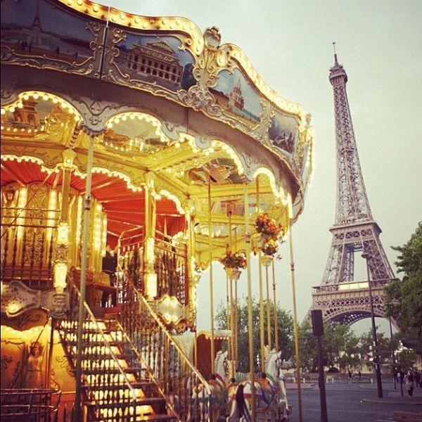 ride this carousel in Paris.