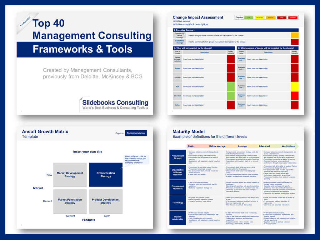 Business Management Consulting Toolkit By Ex Mckinsey Consultants