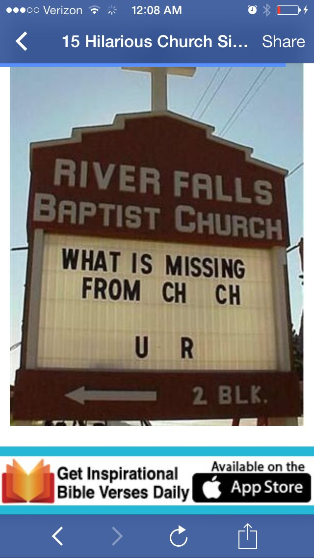 Don\'t miss church | Church humor, Church sign sayings, Funny ...