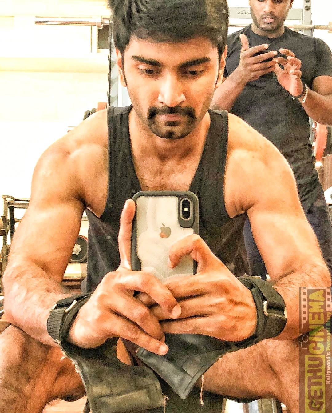 Actor Atharvaa 2018 Hd Gallery Tamil Actor Gallery Gym Workouts
