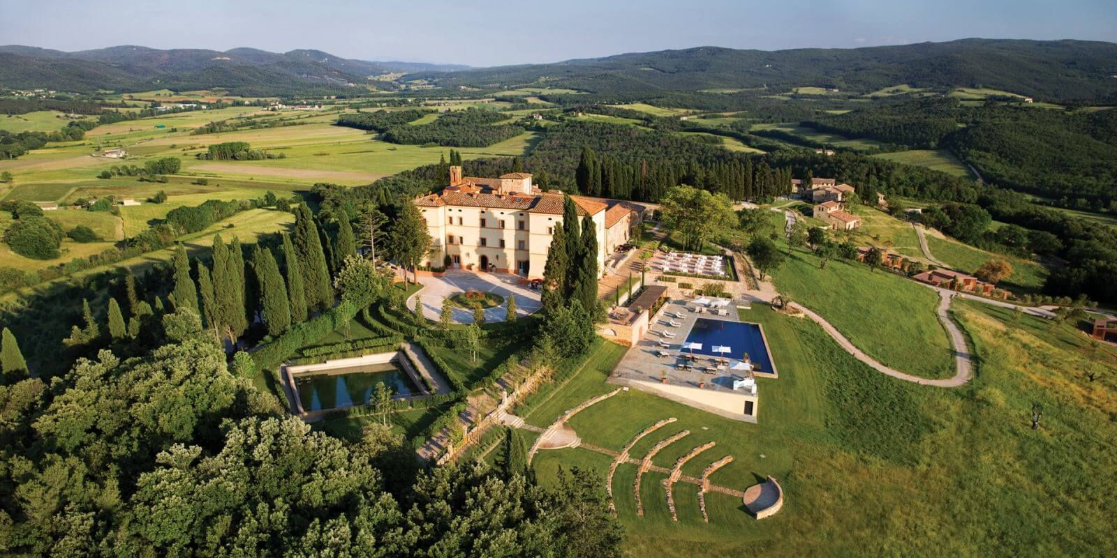 Hotel Castello Di Casole Travel Hotels In Tuscany Country Hotel