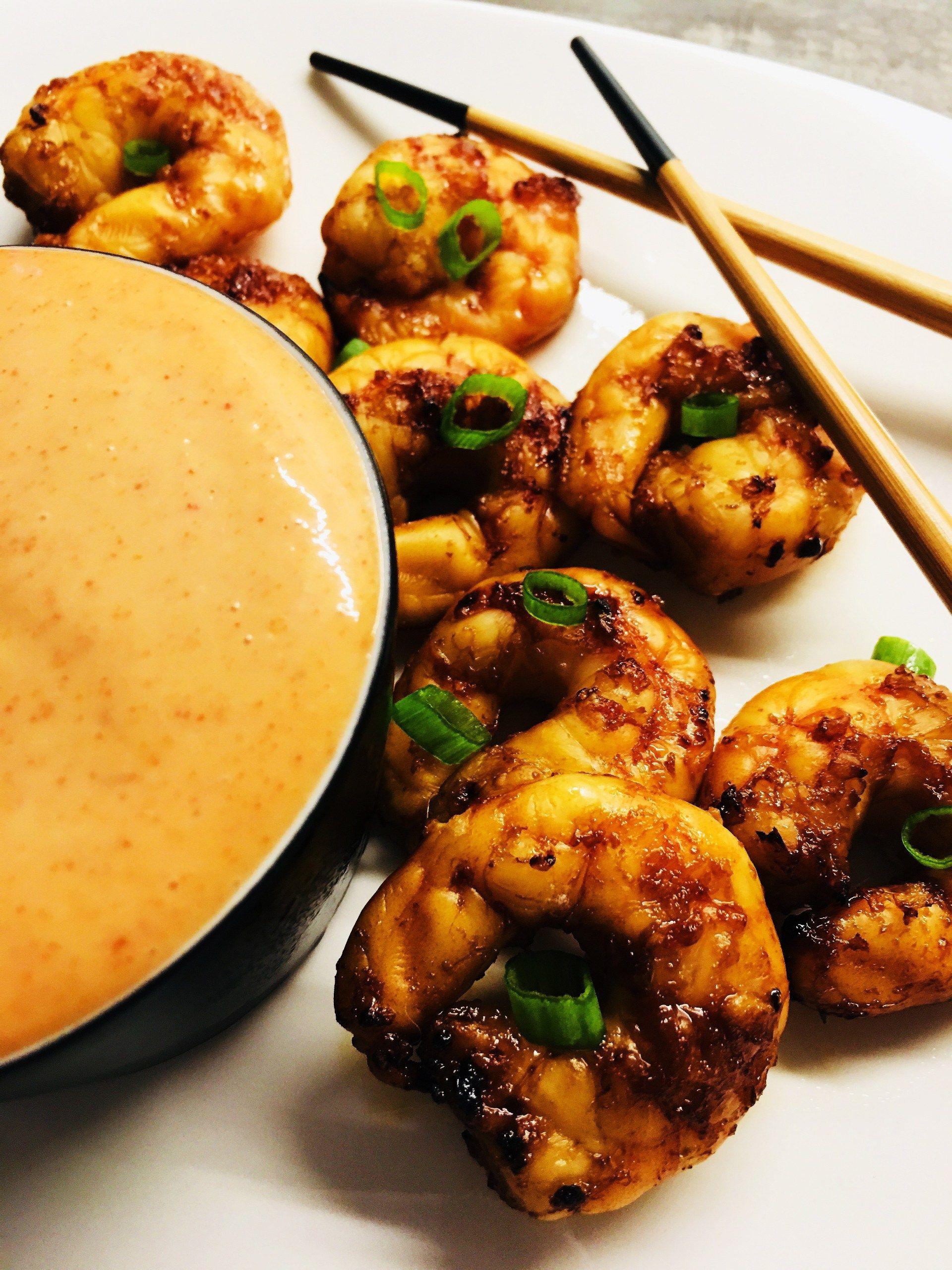 Air Fryer Shrimp with Yum Yum Sauce Recipe Yum yum