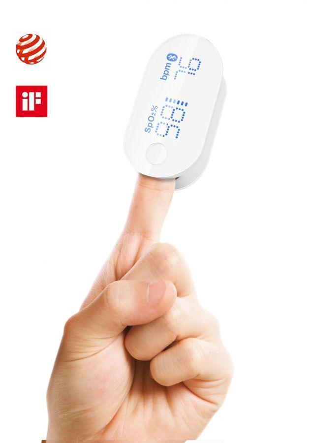 DUO LI – Finger Pulse Oximeter #design #industrialdesign #productdesign #sensor #finger #pulse