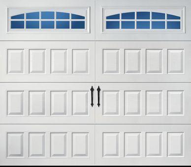 Amarr Oak Summit Raised Panel Cascade Rs23 8x7 Garage Doors