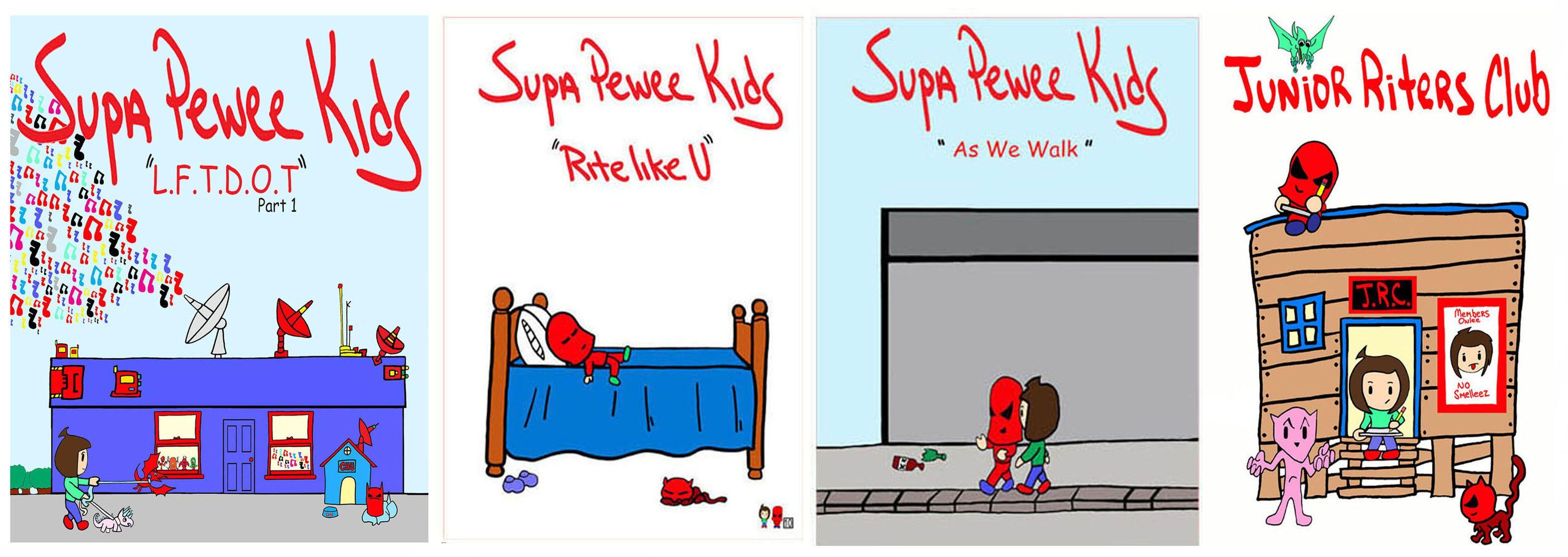 Super Pee Wee Kids B Pop Mason Ali P Picture Car Punk Pee Wee Pop