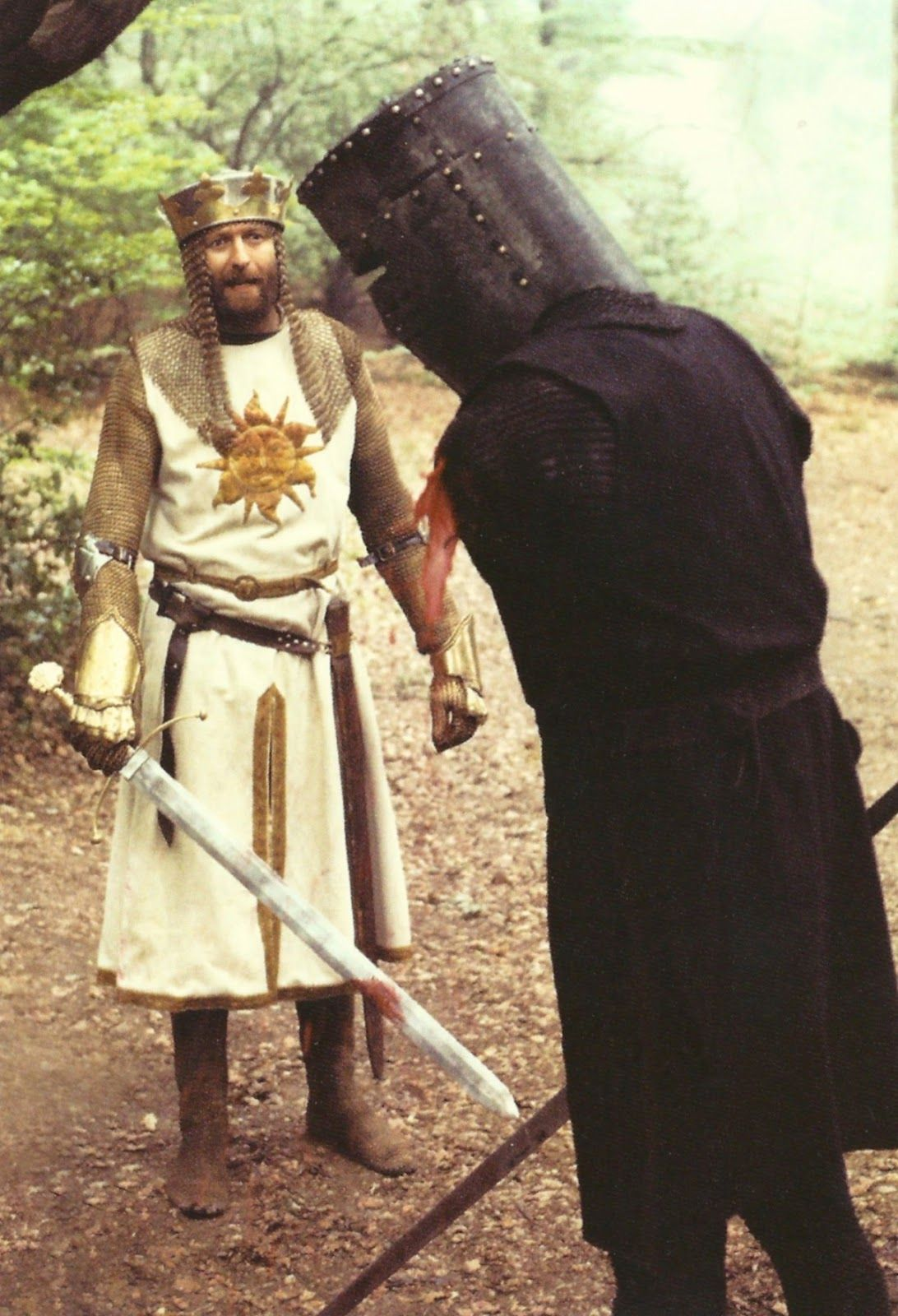 """""""Tis But a Flesh Wound!"""" - Monty Python and the Holy Grail ..."""