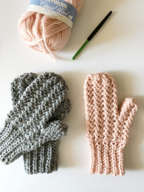 Manoplas de punto de ganchillo - Daisy Farm Crafts | crochet | Pinterest