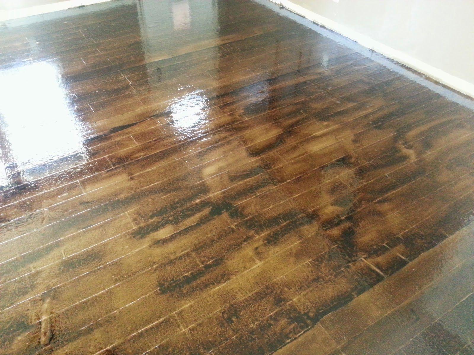 Guest Project — Brown Paper Flooring Technique!!