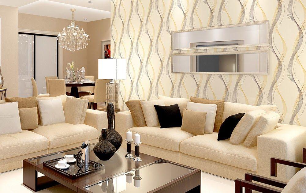 Wallpaper Untuk Ruang Tamu Sempit