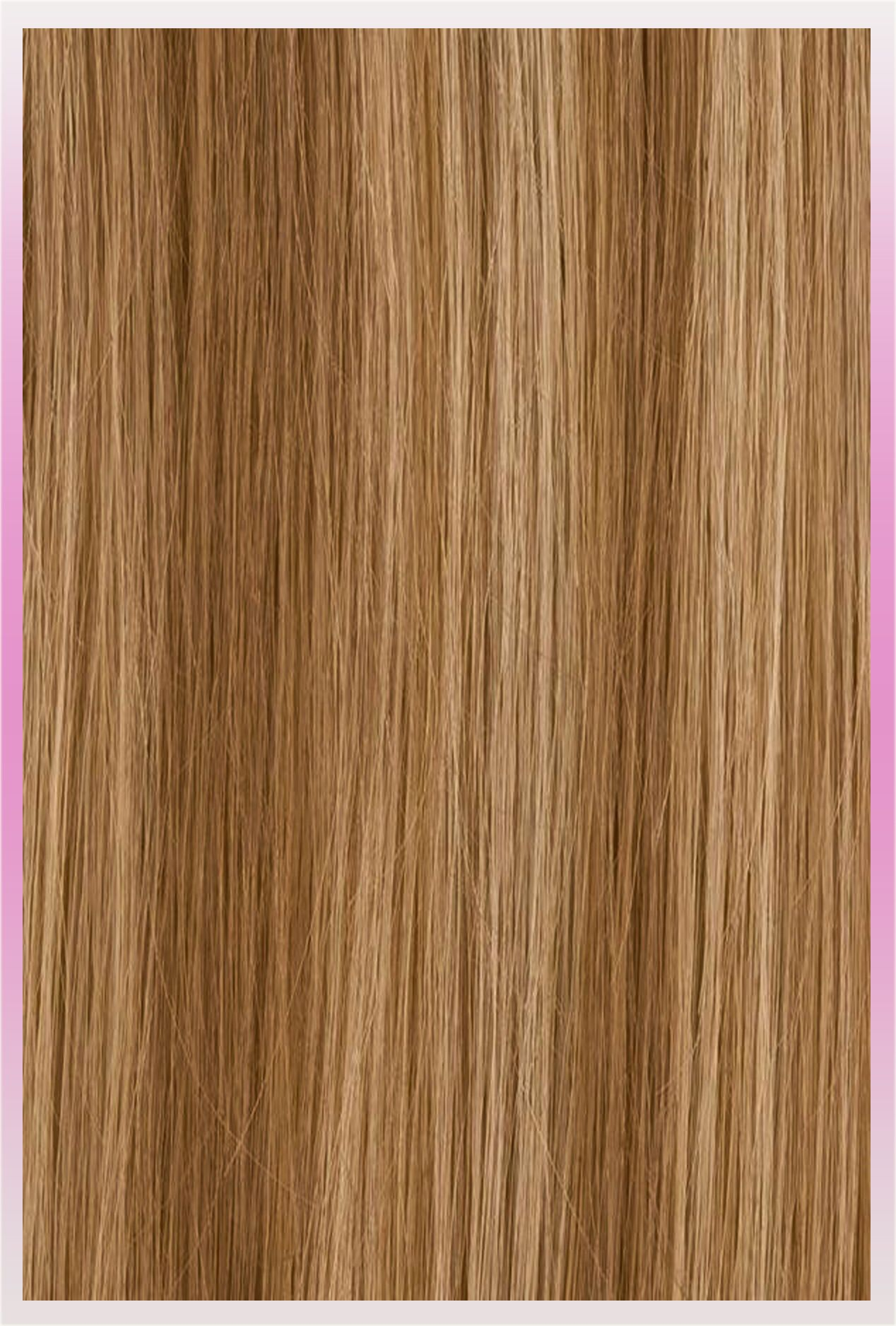 Clip In Ponytail Human Hair Extensions I Ash Brown Or Dark Blonde