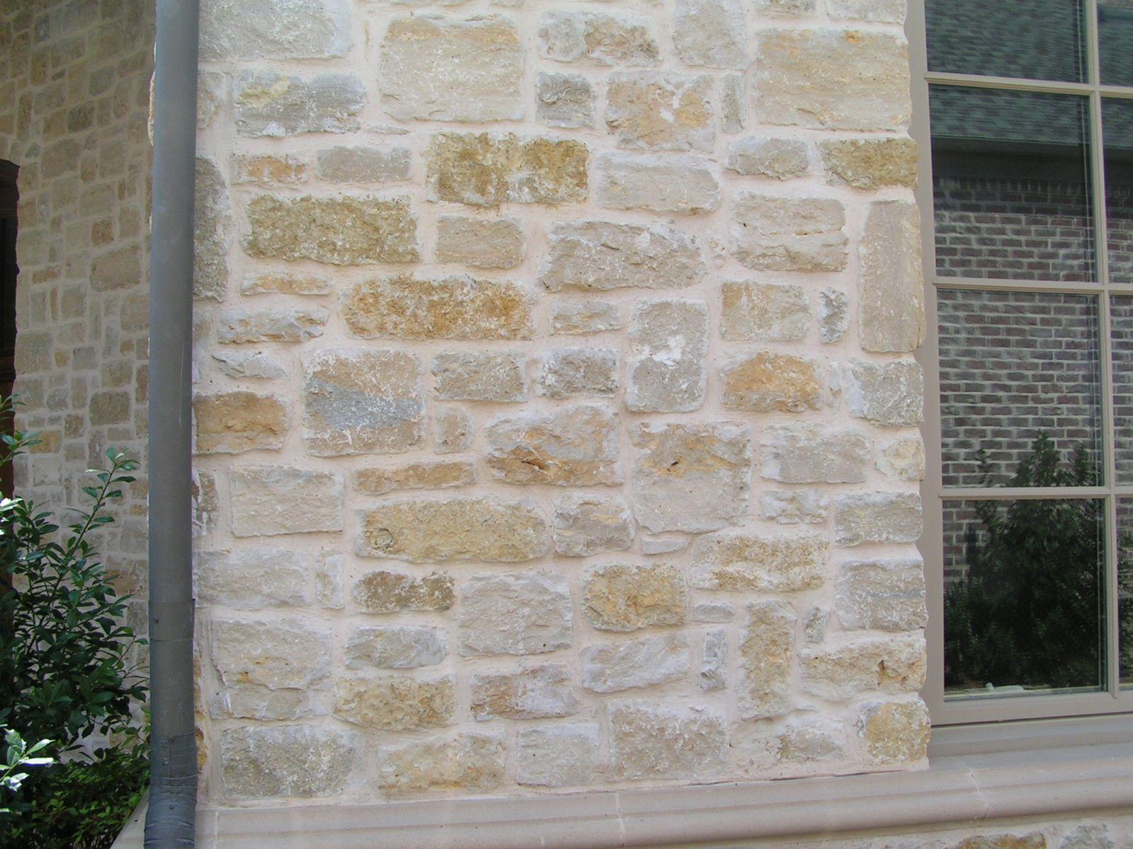 granbury plum natural limestone full size or thin veneer metro brick  u0026 stone dallas  texas