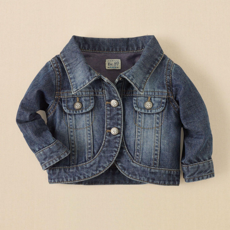 Denim Jacket Girls Denim Jacket Baby Denim Jacket Denim Jacket [ 1500 x 1500 Pixel ]