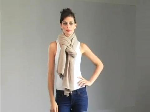 pashmina wrap how to wear