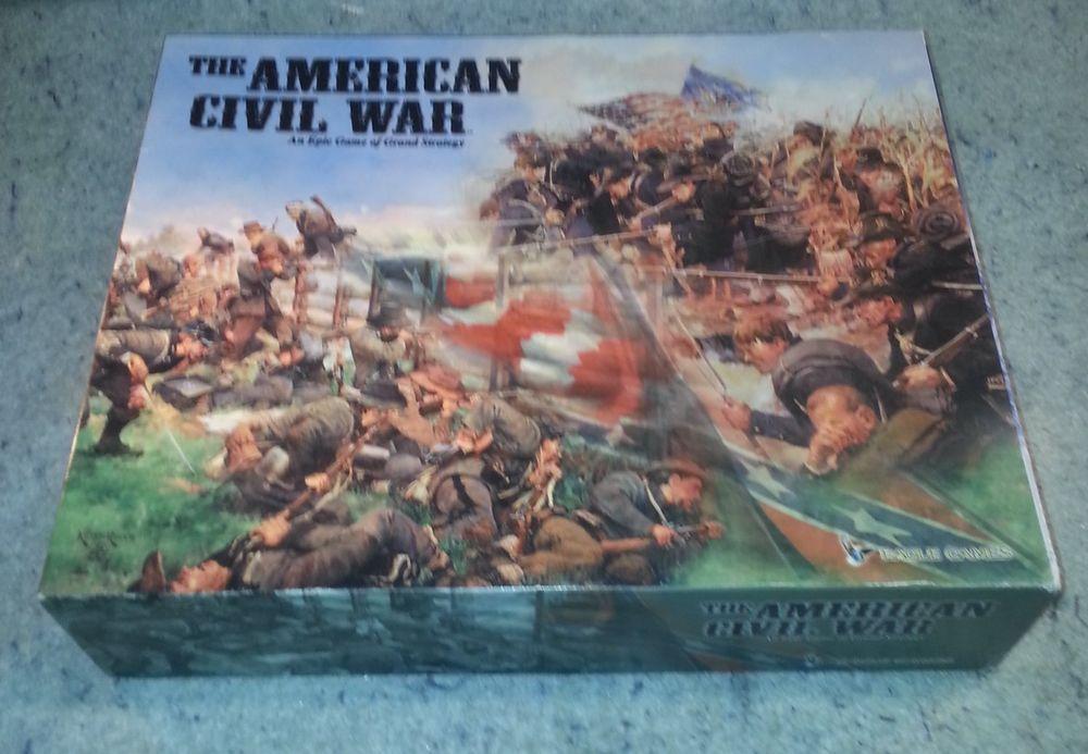 Eagle Games American Civil War Boardgame oipen box.....