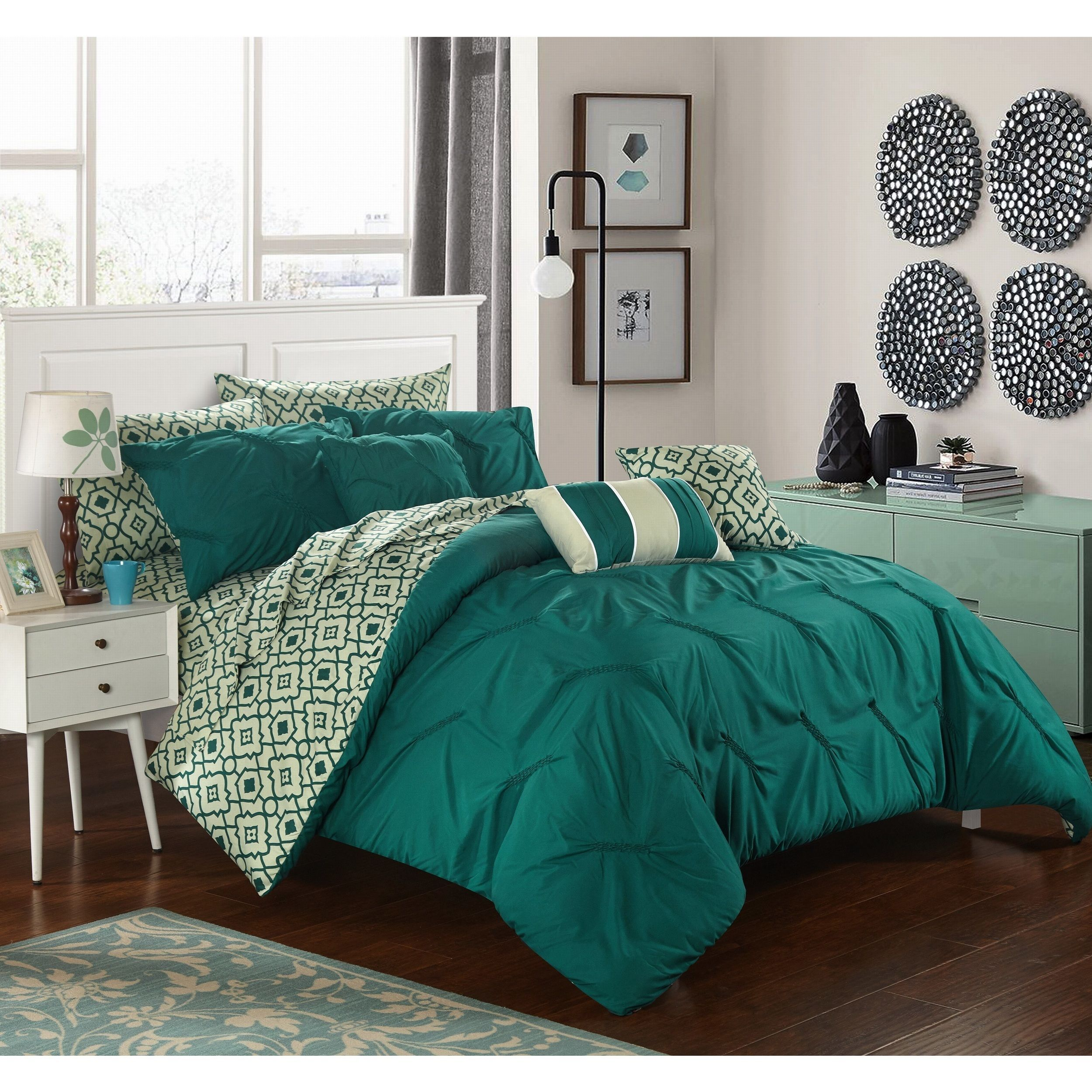 reviews queen bedding green comforter madison pcr bed best set customer helpful in rated sets aqua amherst size park bag a