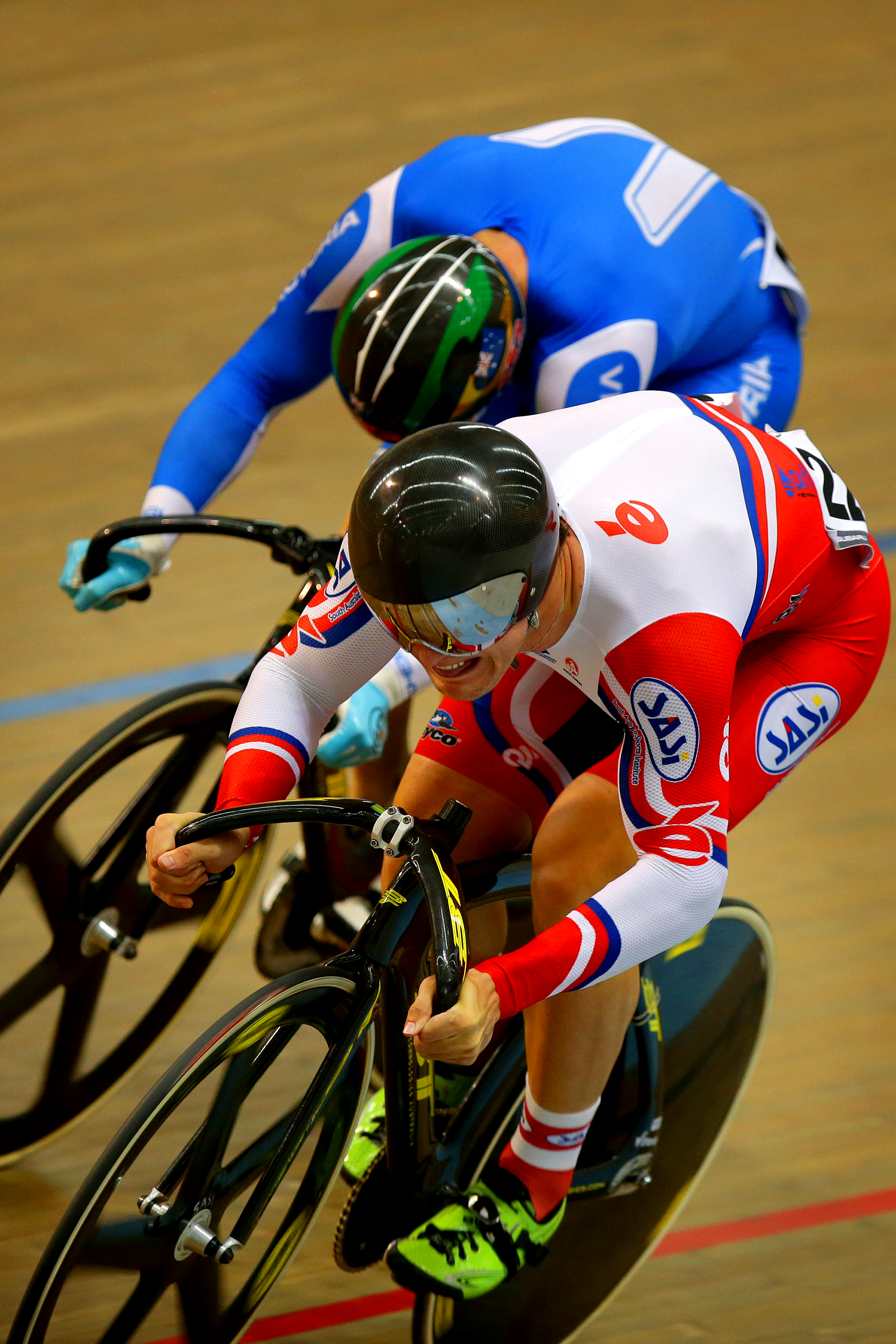 2015 Track National Championships. Bont Cycling Shoes