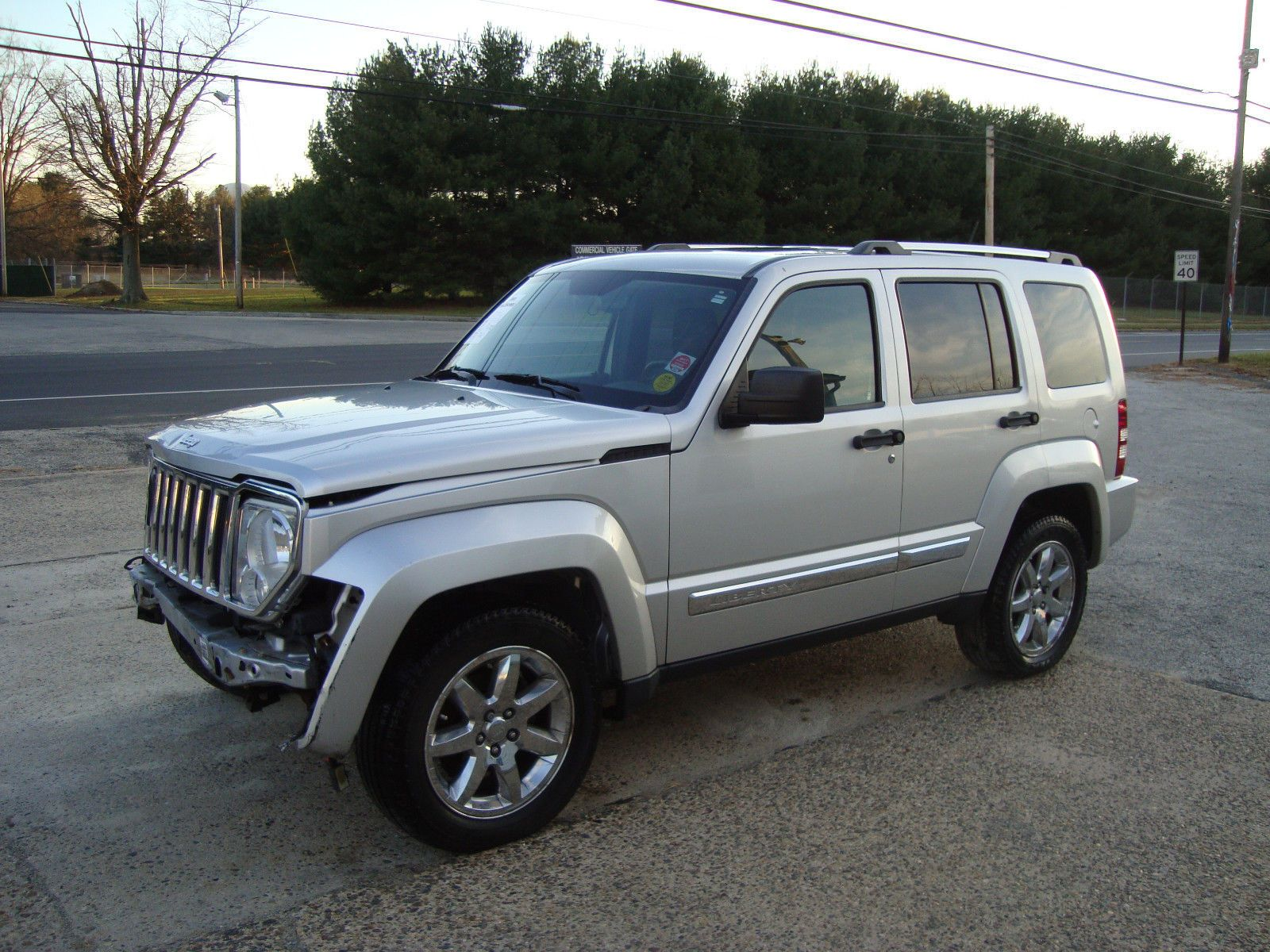 2009 Jeep Liberty Limited AWD Salvage Rebuildable Repairable