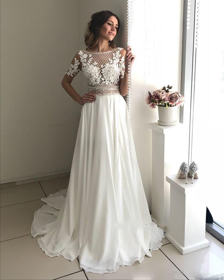 Pin En Summer Wedding Dresses
