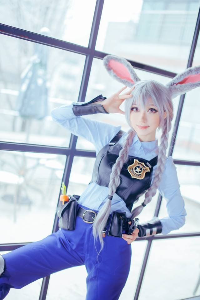 Judy Hopps Cosplay By Saida Cosplay Ideas Pinterest Cosplay