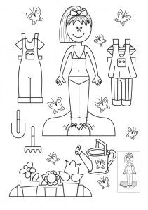 bambole da vestire