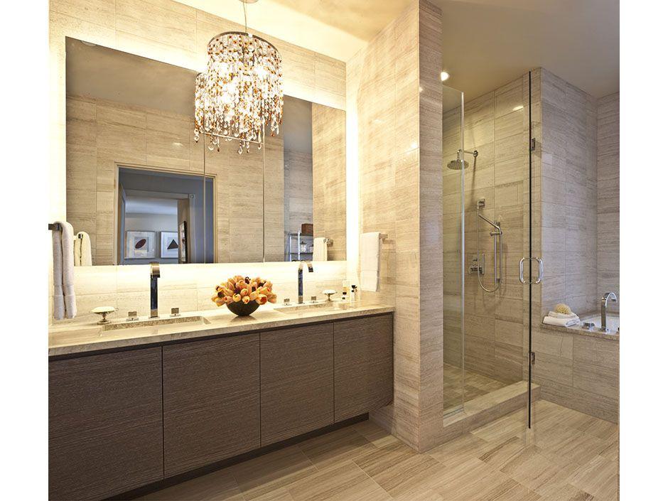 Ritz Carlton Residences 27H Master bathroomSpaPinterest