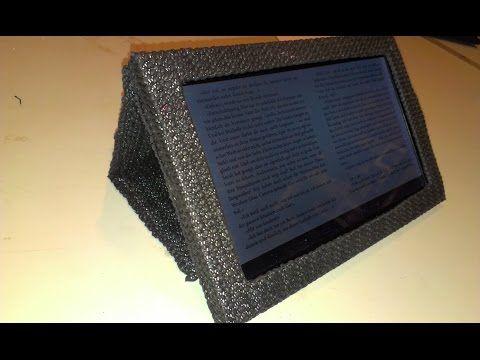 Tablet-Tasche selbst gemacht - YouTube