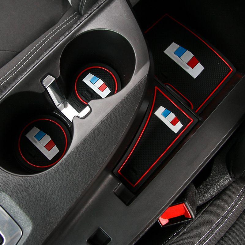 Cae Accessories Rubber Gate Slot Mats Anti Slip Mats For Chevrolet Camaro 2017 Chevrolet Camaro Interior Accessories Camaro