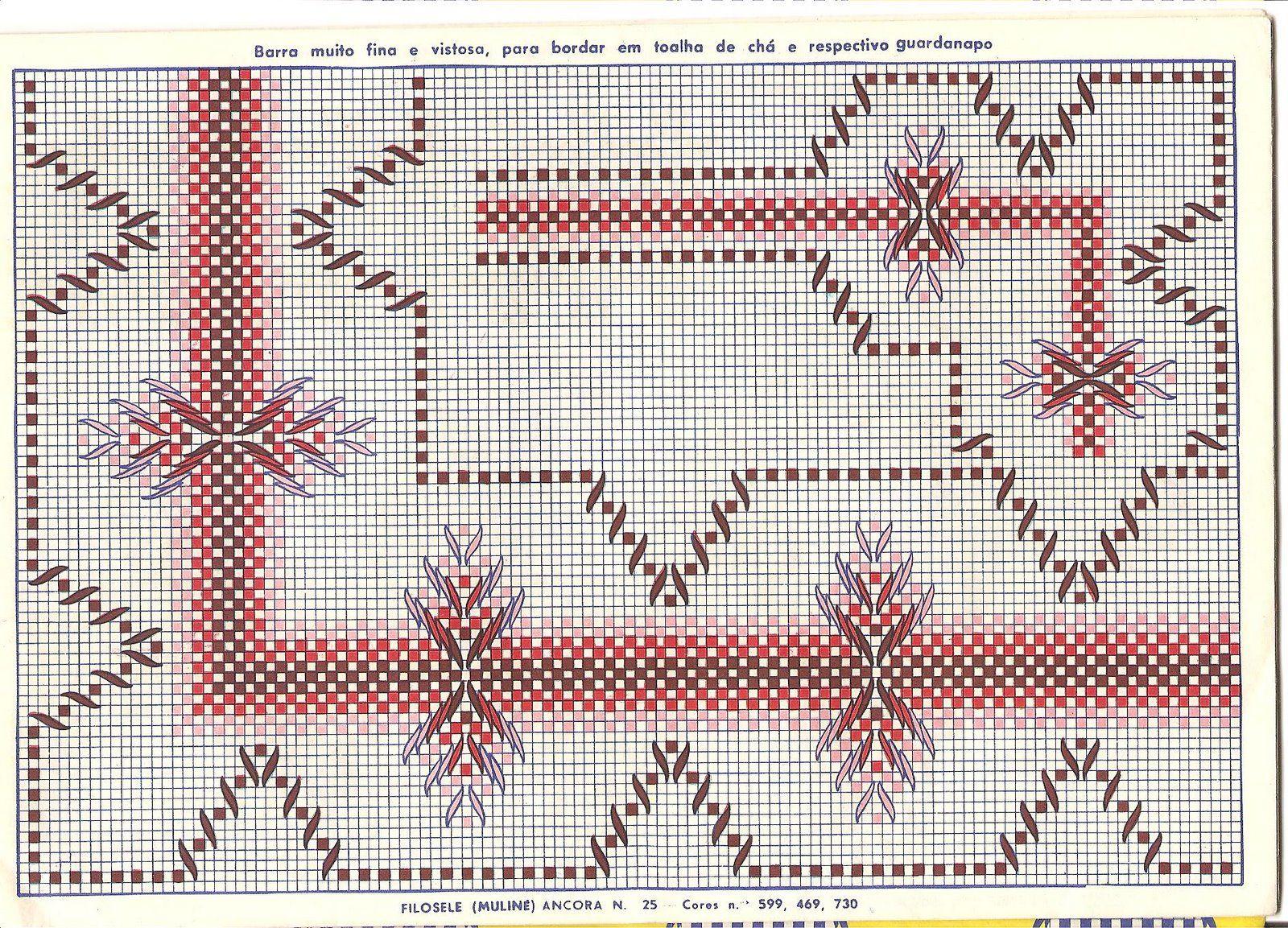 ESQUEMAS PUNTO YUGOSLAVO | Punto Yugoslavo ( Esquemas ) | Embroidery ...