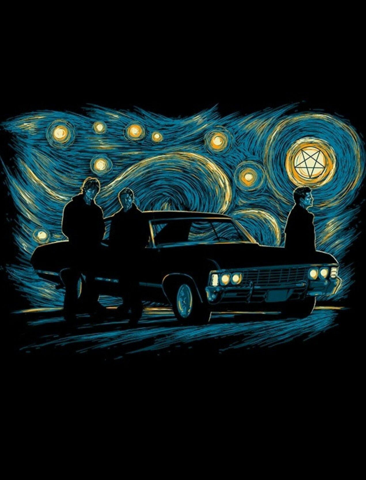 Starry Starry Winchester Supernatural Background Supernatural