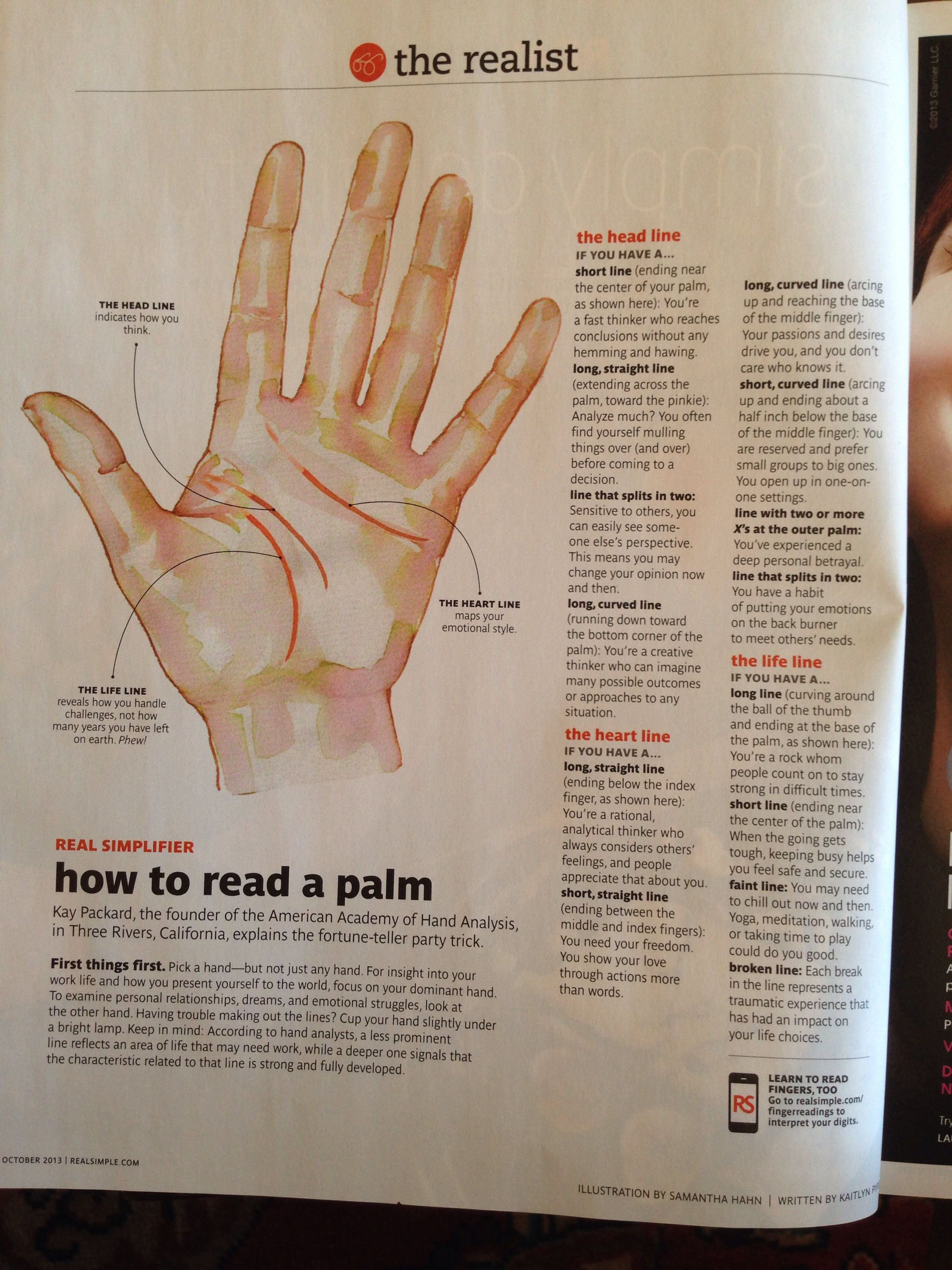 How To Read A Palm Palm Reading Palmistry Creativity Quotes [ 3264 x 2448 Pixel ]